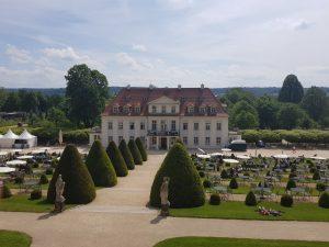 Sitzmöglichkeiten Gasthaus Schloss Wackerbarth