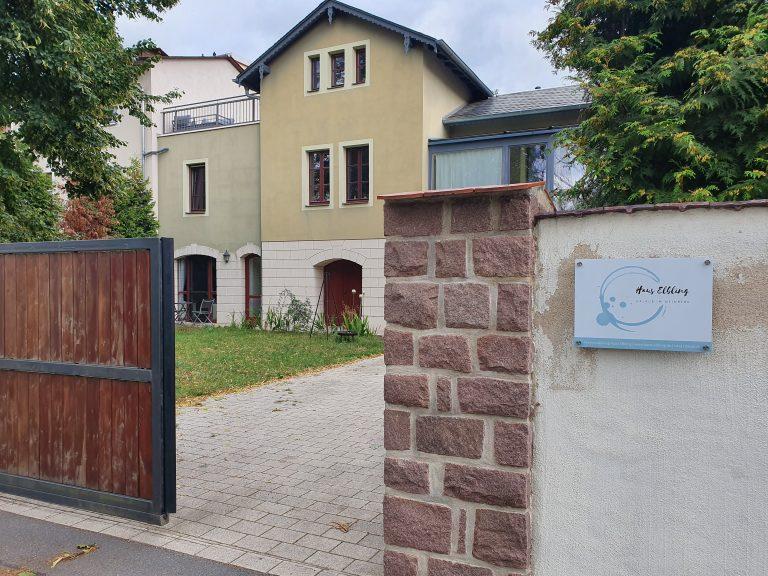 Haus Elbling Unterkunft Radebeul von außen