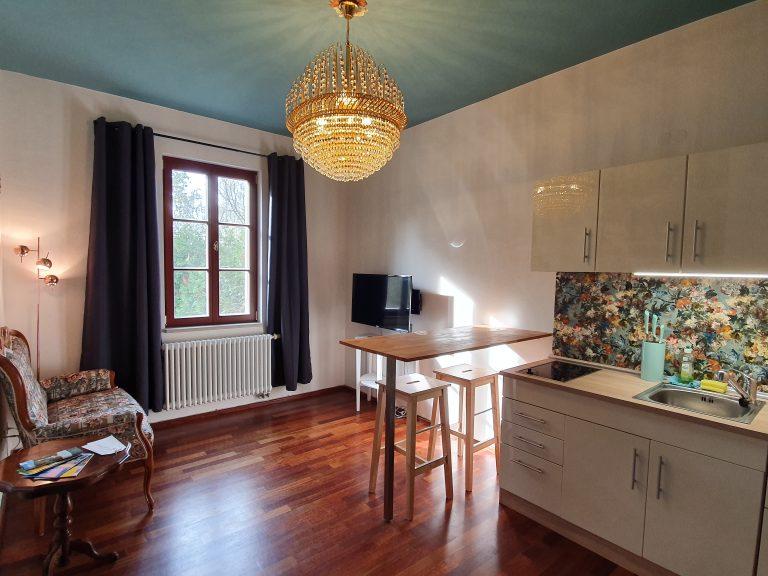 Ferienwohnung Haus Elbling Küche