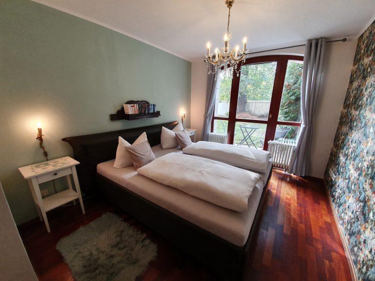 Ferienwohnung Haus Elbling Schlafzimmer