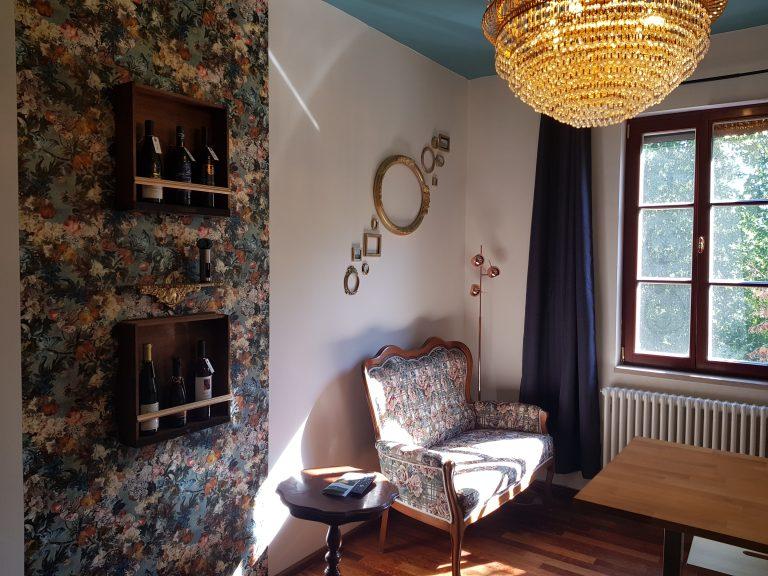 Ferienwohnung Haus Elbling Wohnzimmer